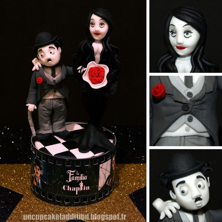 Concours de Cupcakes Sevilla Dulce 2013 : La Famille Chaplin