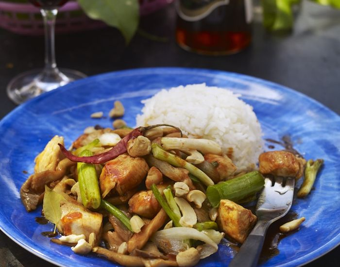 Thai kylling m. Chili