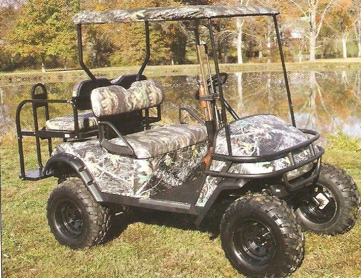 Golf Cart Hunting Accessories Golf Cart Camo Golf Cart