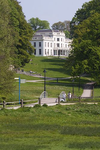 The white villa in park Sonsbeek.. Arnhem,  the Netherlands