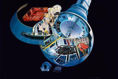"""Stanley Kubricks Film """"2001: Odyssee im Weltraum"""" war so bewusstseinserweiternd wie stilbildend. Ein Bildband belegt, wie der Regisseur Darsteller und Effekte dirigierte."""
