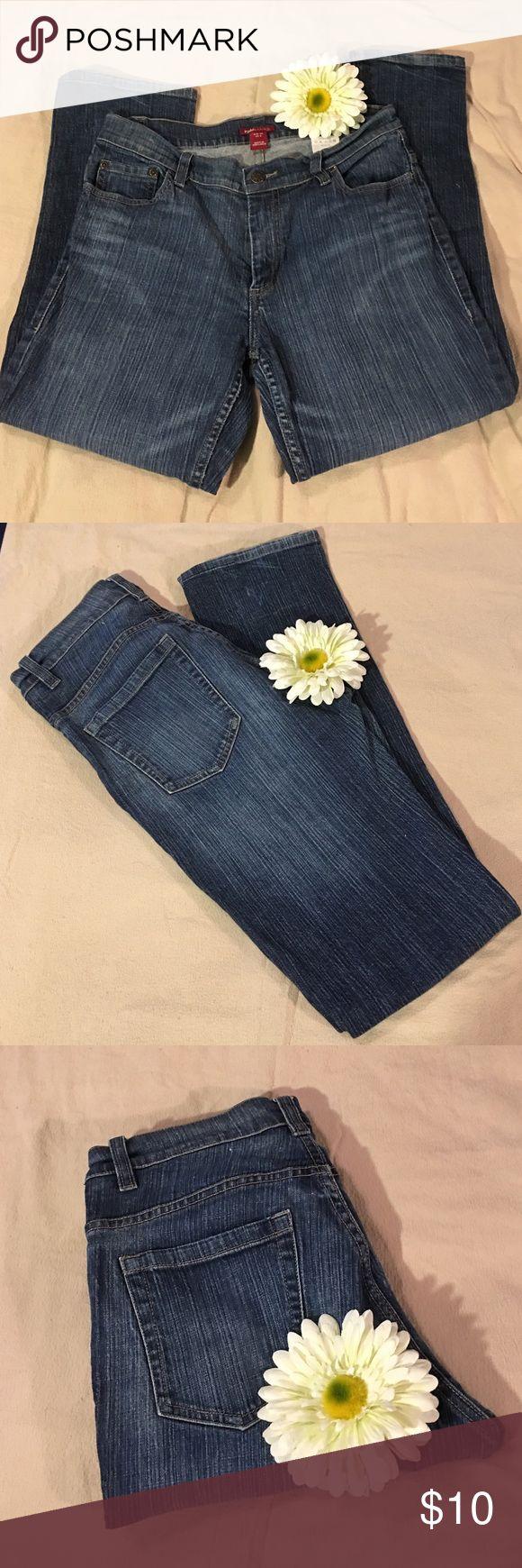 Straight Leg Stretch Jeans Size 8 Straight Leg Stretch Jeans Regular Length Size 8 H&M Jeans Straight Leg