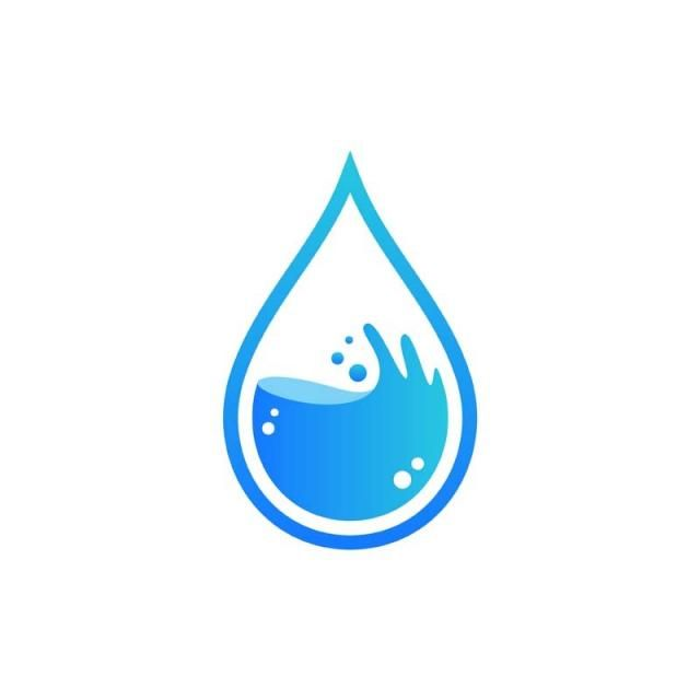 Hygiene Eco Water Drop Symbol Plumbing Logo Plumbing Logo Water Drop Logo Logo Design Water