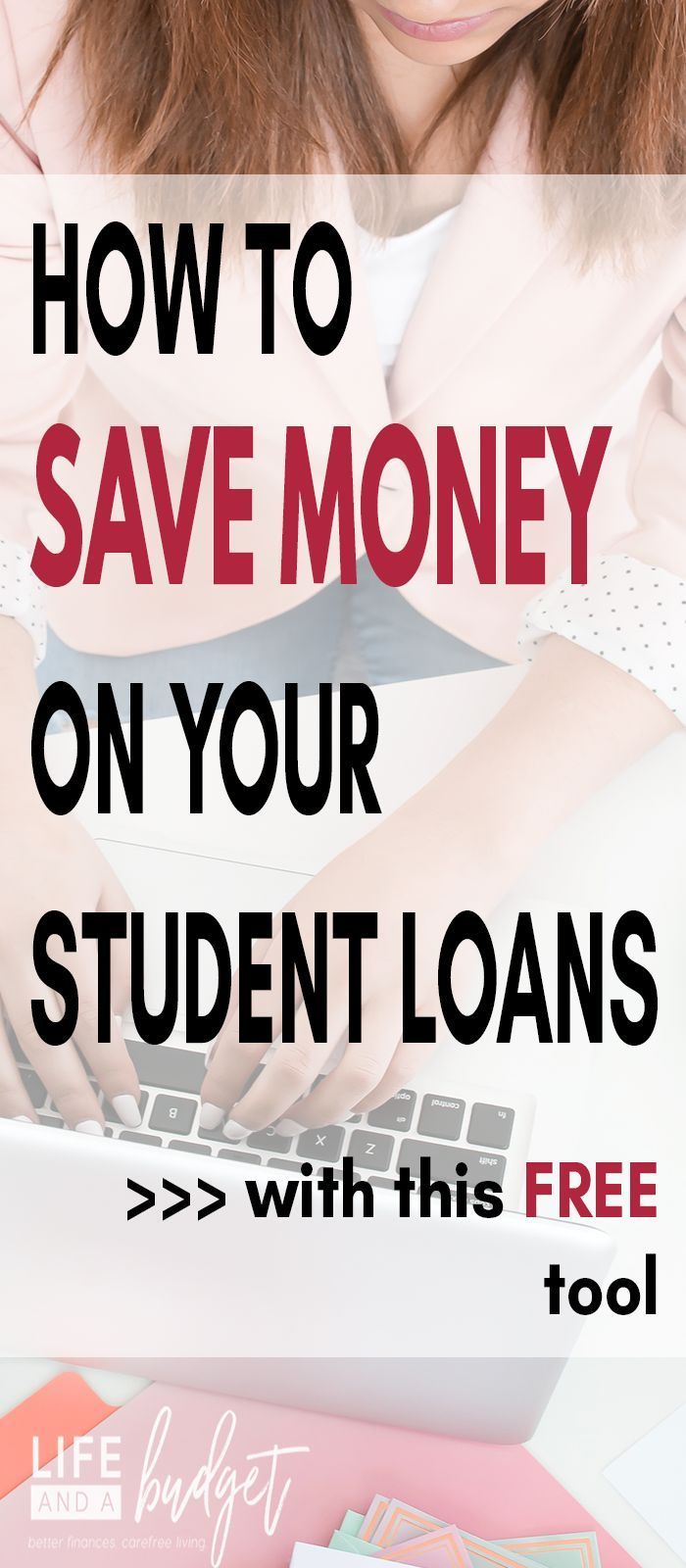 Are making any progress on paying off your student loans? Do you have a high interest rate on your student loans? You may want to consider this option to lower your rate and pay off your loans quicker. #studentloans #studentloandebt #studentloan
