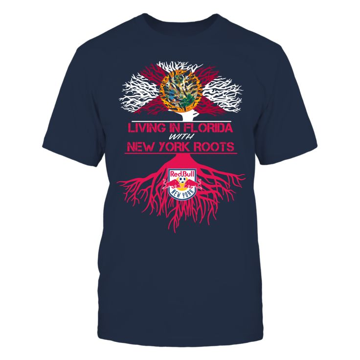 NY Red Bulls - Living Roots Florida T-Shirt, TIP: If you buy 2 or more (hint: make a gift for someone or team up) you'll save quite a lot on shipping.  Click the GREEN BUTTON, select your size and style.  The New York Red Bulls Collection, OFFICIAL MERCHANDISE  Available Products:          Gildan Unisex T-Shirt - $24.95 Gildan Women's T-Shirt - $26.95 District Women's Premium T-Shirt - $29.95 District Men's Premium T-Shirt - $28.95 Next Level Women's Premium Racerback Tank - $29.95 Gildan…
