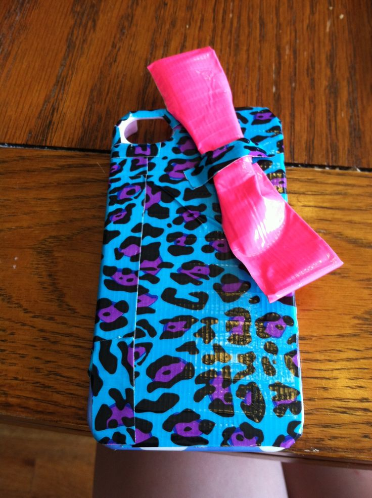 Fun homemade phone case with duct tape phone cases for Homemade phone case