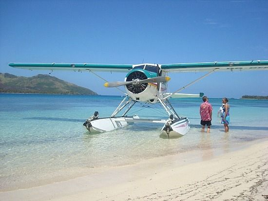 Keep your eyes out for a seaplane.