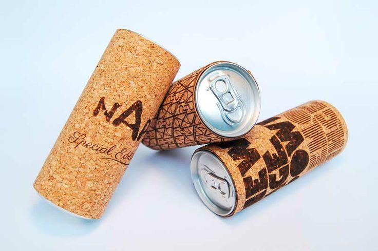 Corcho para una bebida energética » Blog del Diseño