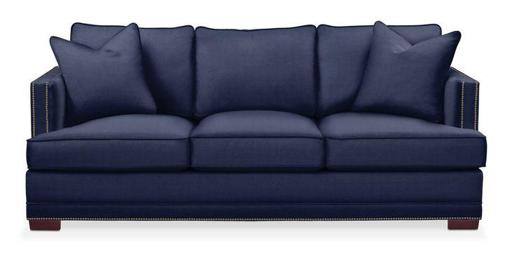 Arden Sofa- Cumulus in Oakley III Ink | Value City Furniture