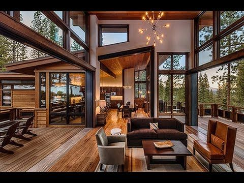 Mountain Modern Lodge by Greenwood Homes