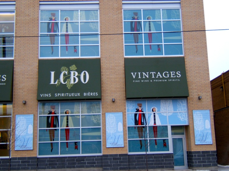 All aspects of our offerings are used to create a vibrant retail facade.