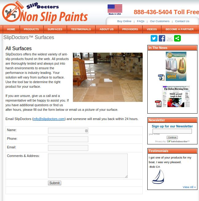 You Must Prevent Your Family And Friends To Fell On Your Floor With Anti  Slip Coating. Improve Looks Of Your Fiberglass, Porcelain, Ceramic And Etc  With Non ...