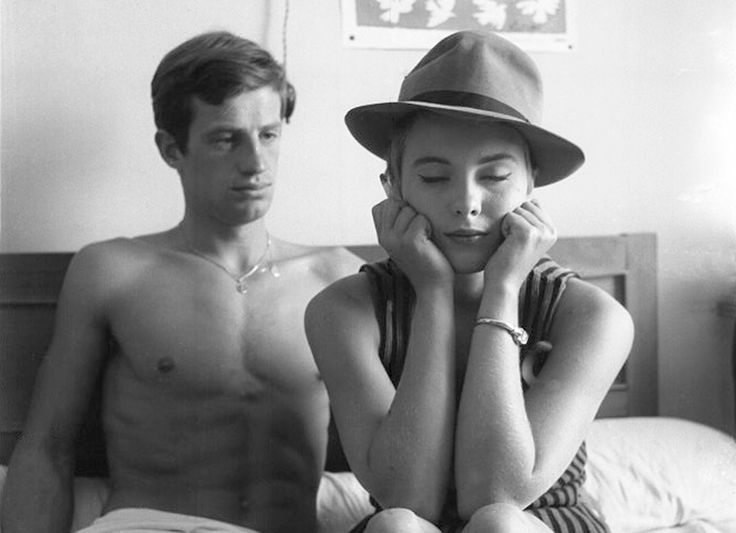 A bout de souffle. One of the Great French Movie of this April Edition. 30 Great French Movies to watch (+ where to watch these movies online) http://www.talkinfrench.com/french-movies-april/ Don't hesitate to share