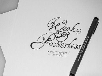 Weak & Powerless Sketch