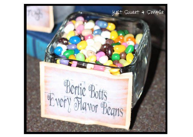 Harry Potter Bertie Botts Every Flavor Beans (halloween)