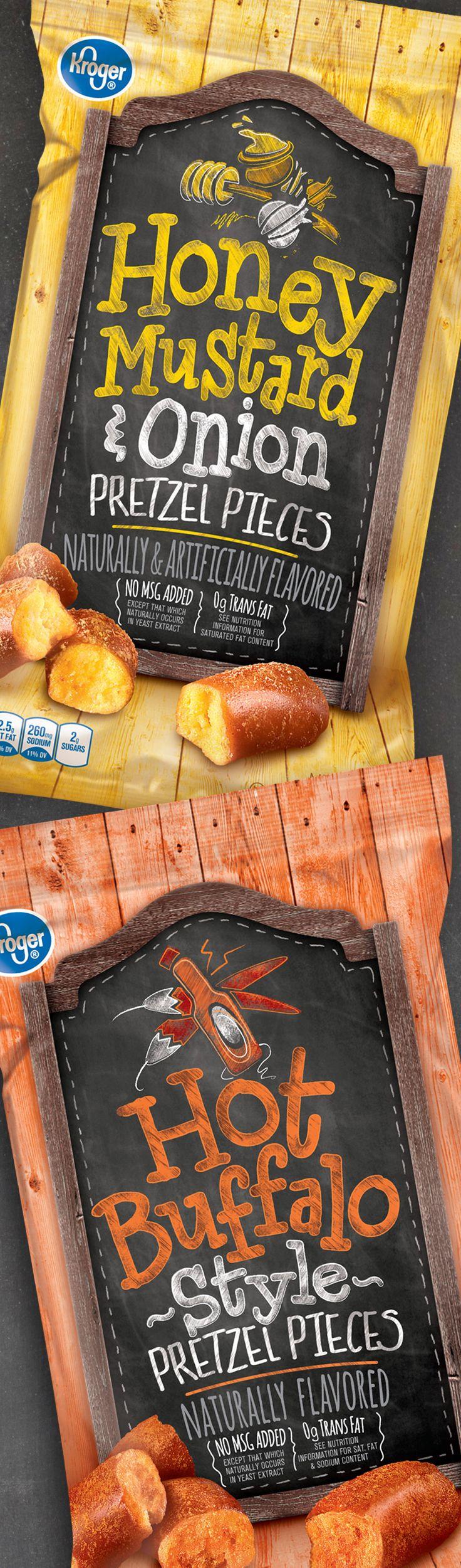 Pretzel Pieces Packaging | Designer: Design Resource Center