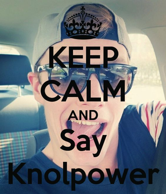 deel dit met iedereen dit is pas #knolpower: