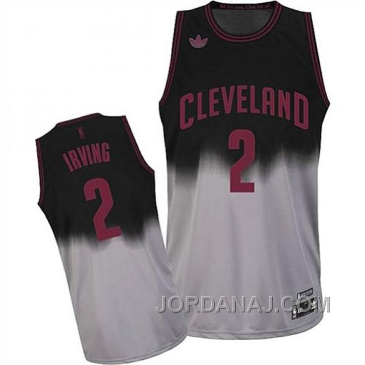 ab0b801f6 ... grey httpwww.jordanaj.comkyrie-irving-cleveland- Mens Cleveland  Cavaliers 23 LeBron James 2017 The NBA Finals Patch Black With Gold Swingman  Jersey ...
