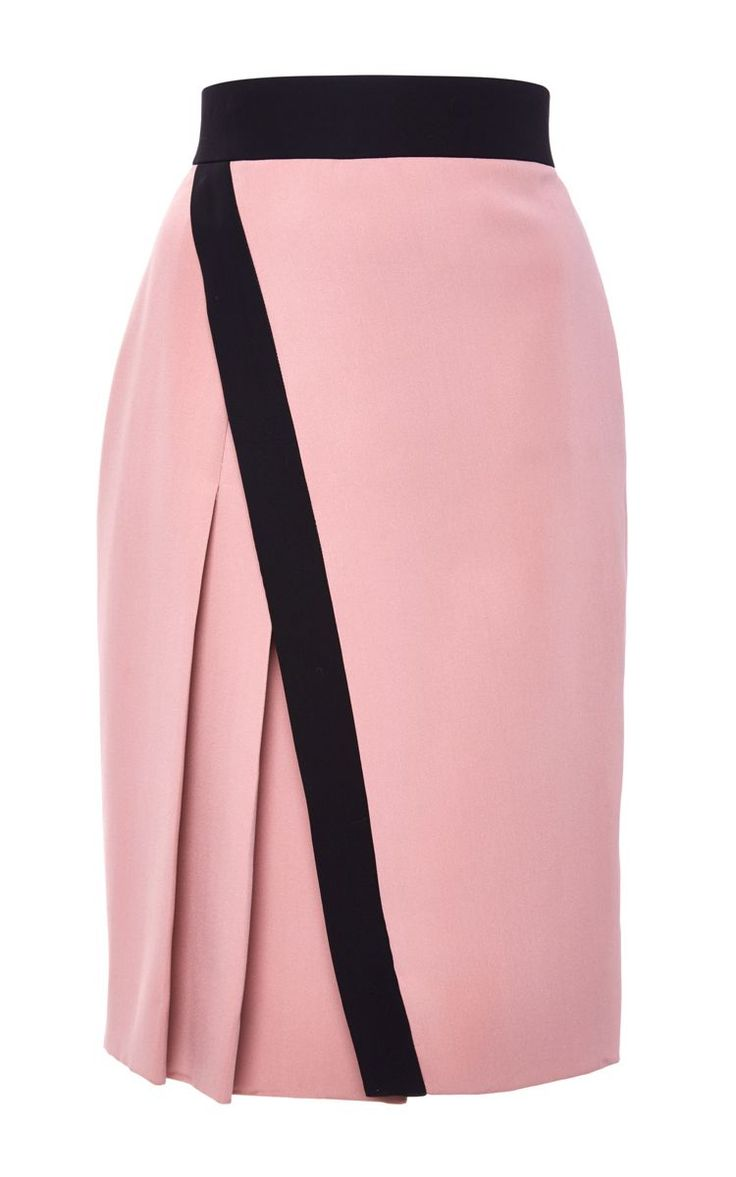 Silk Abstract Lace Wrap Skirt - J. Mendel Resort 2016 - Preorder now on Moda Operandi