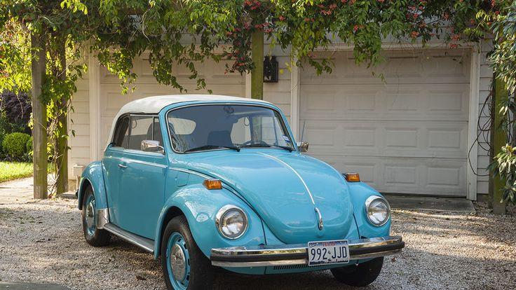 1974 Volkswagen Super Beetle Convertible 2210 CC, 4Speed