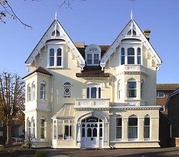 Edwardian home - looks like a gingerbread house