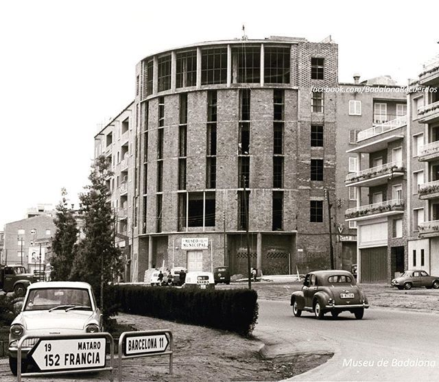 1fcca5e72 Principios de los años 60, el museu en construcción. Foto del Museu ...
