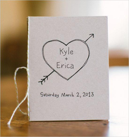kraft wedding invite #diy #weddinginvitation #weddingchicks http://www.weddingchicks.com/2014/03/10/unique-and-earthy-wedding/