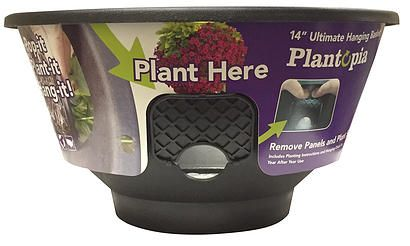 "Check out a review of Plantopia! They feel the same way we do about Plantopia's unique side planting feature and outstanding results when grown up! Get yours today! Visit www.plantopiaflowerpots.com and use promo code ""MAMALUV"" to save 20% off your order through Mother's Day!"