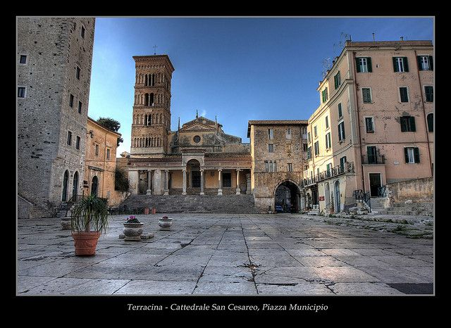 Terracina Italy   terracina cattedrale san cesareo piazza municipio terracina italy ...