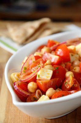 Tipikus Flammeres: Csicseriborsóból salátát
