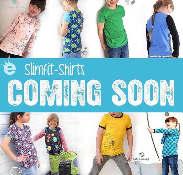 """Slimfit Shirt """"Hänsel & Gretel"""" // Schnittmuster und e-Book von Erbsenprinzessin.com"""