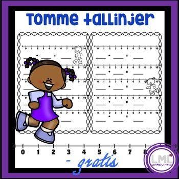 Her får du oppgaveark med tomme tallinjer. Elevene kan lage regnestykker til hverandre eller til seg selv. Lærer kan også gi elevene regnestykker som de skal regne ut på tallinjen. Tallinje kan være en fin støtte i matematikk! Skriv ut også er arkene klare til bruk! Sjekk også ut matematikk samlepakke 1.