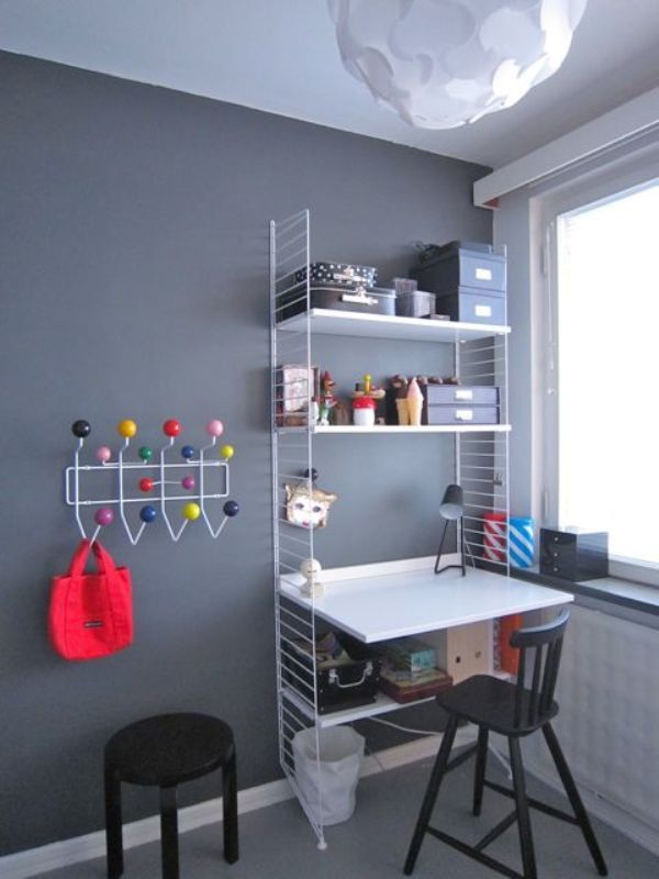 35 kids desks spaces inspirational ideas 32