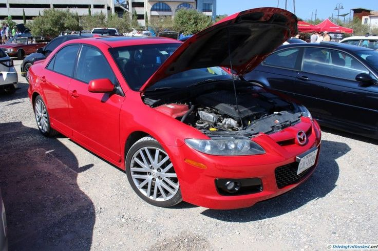 MazdaSpeed6. As seen at the August 2015 Cars and Coffee show in Austin TX USA.