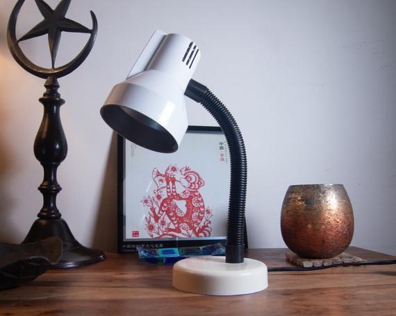 Veneta Lumi Vintage Italian Space Age Desk Lamp Etsy Desk Lamp Lamp How To Make Light