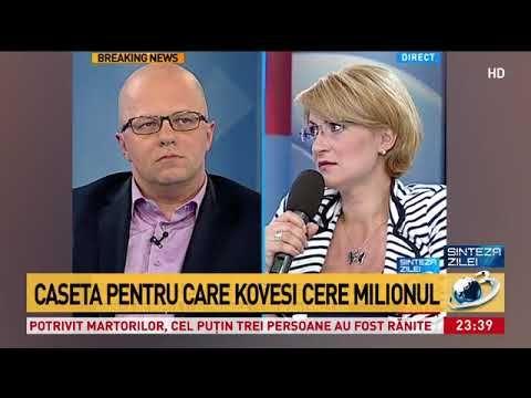 Caseta pentru care Kovesi cere 1 milion de la ziariști