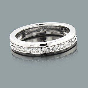 mens diamond wedding band ct stone ring