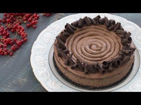 Υπέροχο σοκολατένιο cheesecake (Video) | Συνταγές - Sintayes.gr