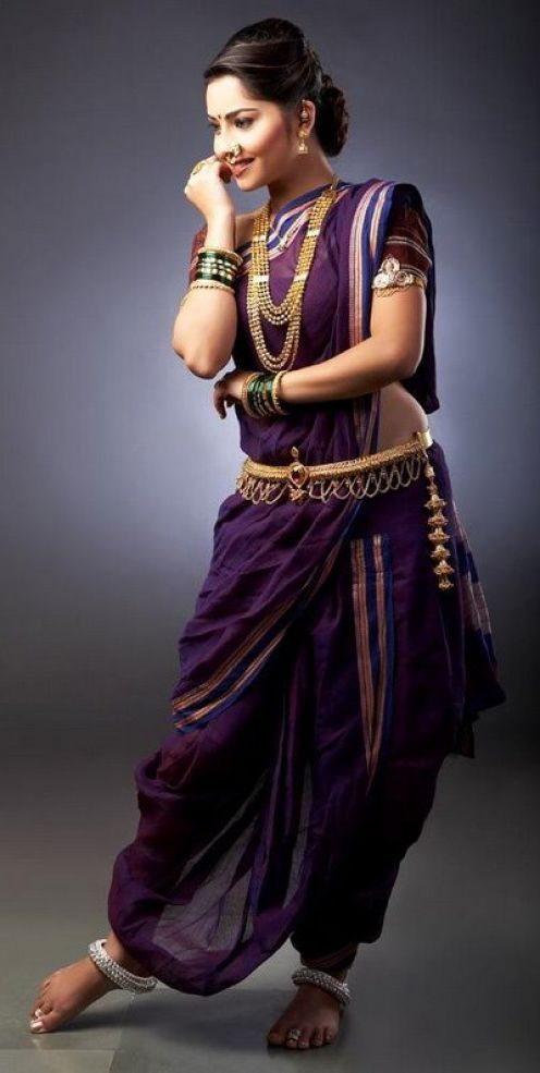 I need to learn how to wear a saree like this.