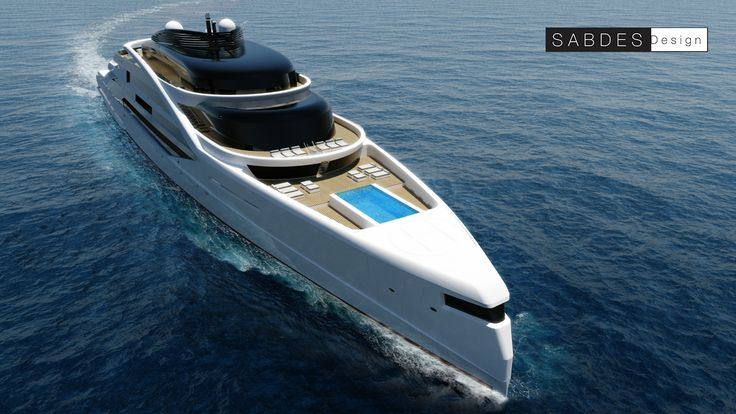 475ft - SABDES Design & ThirtyC  #superyacht #yacht #design #megayacht #luxury #yachtdesign #ocean www.thirtyc.com