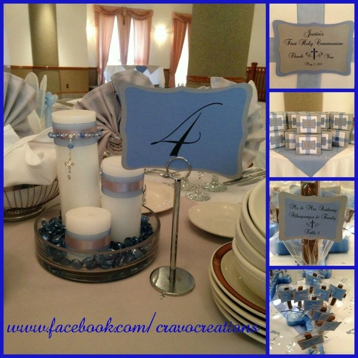 20 Best First Communion Centerpieces Images On Pinterest