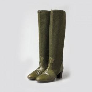 Groene 'groene' schoenen | Blog Caroline #ilovevintage