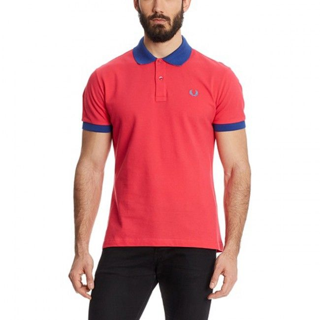Fred Perry Polo Special Edition - Rosso/Blu