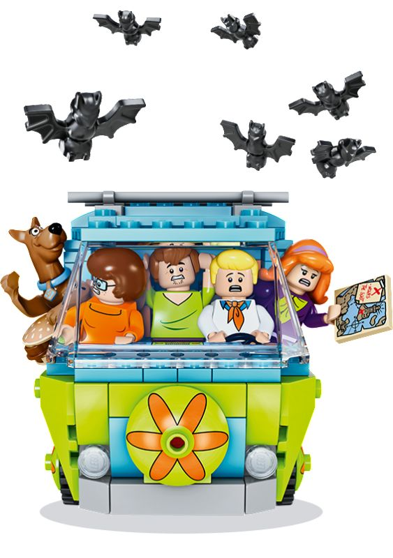 Amazing LEGO Scooby-Doo Stop Motion Videos With Giveaway