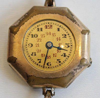 Vieille Montre Mécanique  26,5 mm Balancier OK - D1-029 | eBay