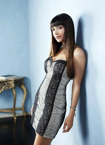 Hannah Simone Poster Standup 4inx6in