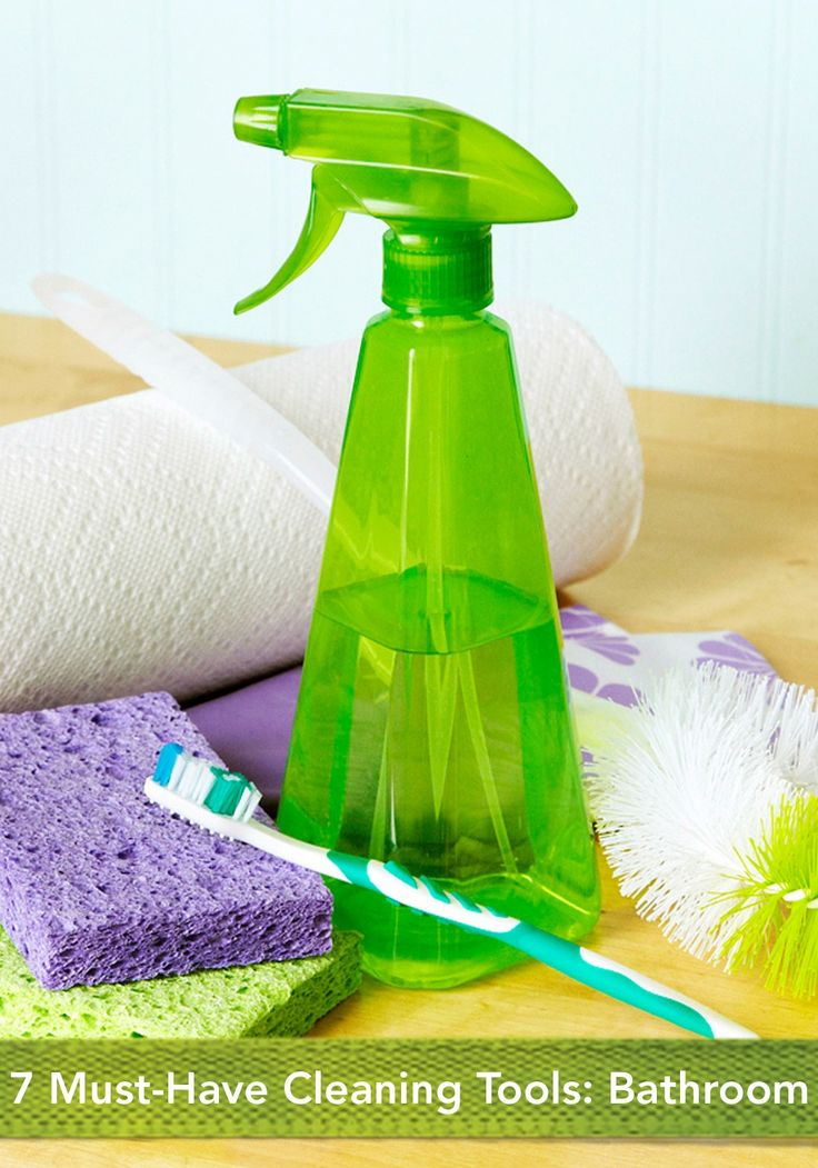 Our Top 7 Bathroom Cleaning Tools To Make Your Life Easier Spring Cleaning Pinterest