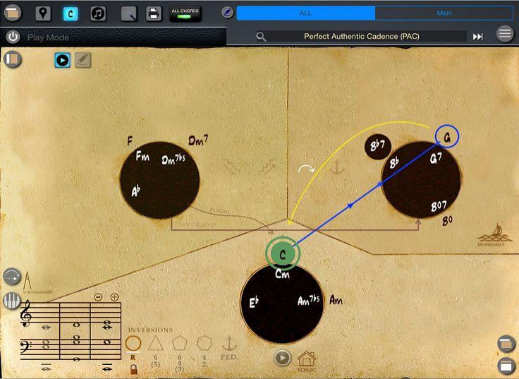 Study tonal harmony like never before! One music app and seven workbooks.