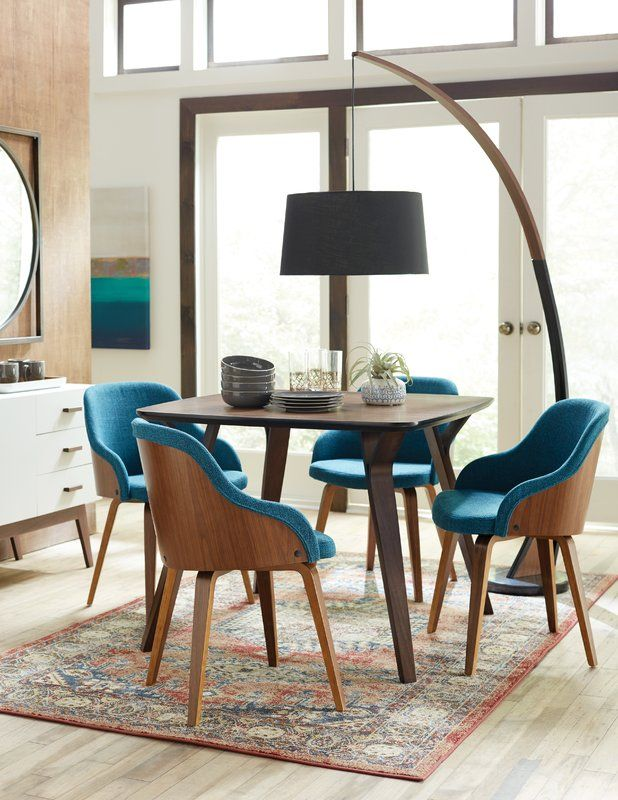 Brighton Mid Century Modern Upholstered Dining Chair Modern