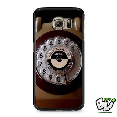Antique Brown Phone Samsung Galaxy S7 Edge Case